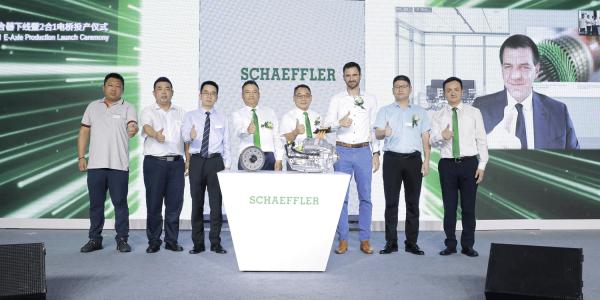 Schaeffler începe producția de e-axe în China